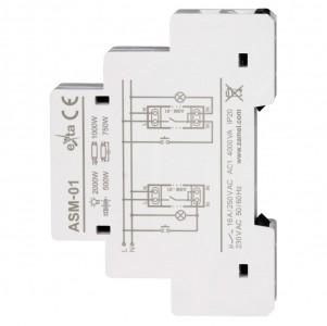 Zamel Exta ASM-01 - Automat schodowy 230V AC, Montaż na szynie TH - Podgląd zdjęcia nr 4