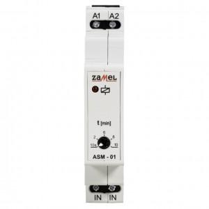 Zamel Exta ASM-01/U - Automat schodowy 12-230V AC/DC, Montaż na szynie TH - Podgląd zdjęcia nr 2