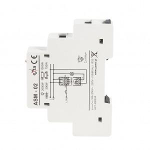 Zamel Exta ASM-02 - Automat schodowy z funkcją przeciwbllokady 230V AC, Montaż na szynie TH - Podgląd zdjęcia nr 5