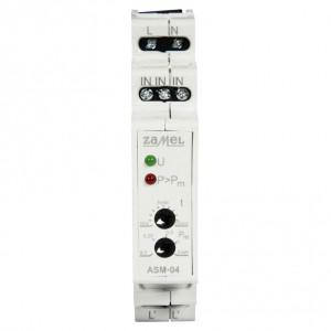 Zamel Exta ASM-04 - Automat schodowy z funkcją ogranicznika mocy 100W - 2kW 16A 230VAC 10s-10 min - Podgląd zdjęcia nr 4