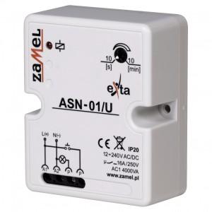 Zamel Exta ASN-01/U - Automat schodowy 12-230V AC/DC, Natynkowy IP20 - Podgląd zdjęcia nr 1