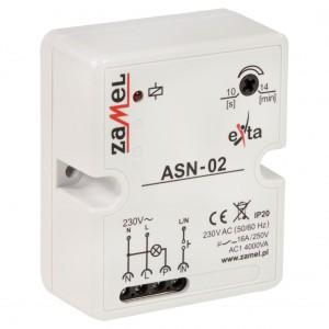 Zamel Exta ASN-02 - Automat schodowy z funkcją przeciwbllokady 230V AC, Natynkowy IP20 - Podgląd zdjęcia nr 3