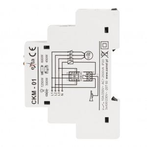 Zamel Exta CKM-01 - Czujnik zaniku napięcia fazowego, asymetrii lub złej kolejności faz, Montaż na szynie TH - Podgląd zdjęcia nr 5