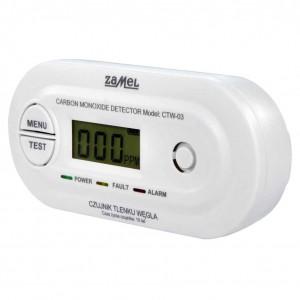 Zamel Gardi CTW-03 - Sieciowy czujnik tlenku węgla 230V AC - Podgląd zdjęcia nr 1