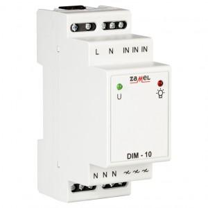 Zamel Exta DIM-10 - Ściemniacz z płynną regulacją 35-400W, Montaż na szynie TH - Podgląd zdjęcia nr 3