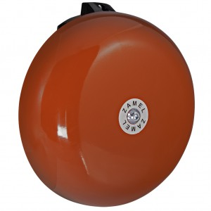 Zamel Sundi DNS-212D - Dzwonek SZKOLNY - ALARMOWY Duży 230V AC (Kolor: Czerwony) - Podgląd zdjęcia nr 3