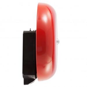Zamel Sundi DNS-212D - Dzwonek SZKOLNY - ALARMOWY Duży 230V AC (Kolor: Czerwony) - Podgląd zdjęcia nr 4