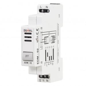 Zamel Exta EDM-02 - Sygnalizator akustyczny z podtrzymaniem alarmu i przyciskiem zwolnienia 230V AC - Podgląd zdjęcia nr 3