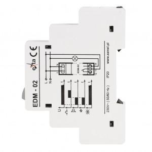Zamel Exta EDM-02 - Sygnalizator akustyczny z podtrzymaniem alarmu i przyciskiem zwolnienia 230V AC - Podgląd zdjęcia nr 5