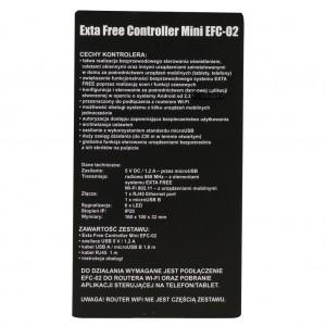 Zamel Exta Free EFC-02 - Kontroler WiFi - Exta Free Controller Mini (Dla Smartfonów z systemem Android lub iOS) - Podgląd zdjęcia nr 7