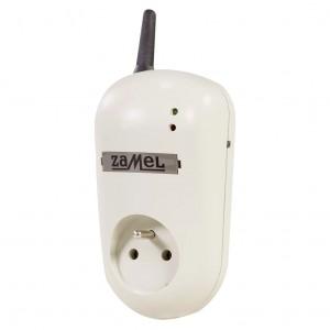Zamel Exta Free GRG-01 - Bezprzewodowe, zdalnie sterowane gniazdo 2P+Z za pomocą sieci GSM (16A/4000W, 230V AC) - Podgląd zdjęcia nr 1