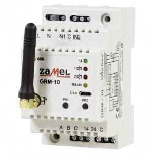 Zamel Exta Free GRM-10 - Sterownik modułowy 2-kanałowy sieci GSM (16A/4000W, 230V AC) - Podgląd zdjęcia nr 1