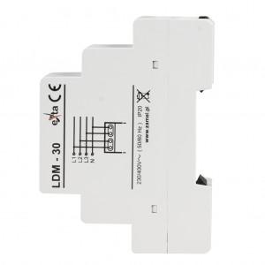 Zamel Exta LDM-30 - Wskaźnik napięcia sieci 3-fazowej typu LED (3x 11LED, 195-245V AC) - Podgląd zdjęcia nr 5