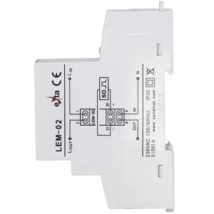 Zamel Exta LEM-02 - Cyfrowy, Jednofazowy licznik energii elektrycznej, Montaż na szynie TH - Podgląd zdjęcia nr 8