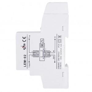 Zamel Exta LEM-02 - Cyfrowy, Jednofazowy licznik energii elektrycznej, Montaż na szynie TH - Podgląd zdjęcia nr 9
