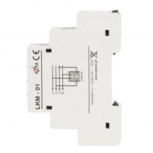 Zamel Exta LKM-01-40 - Wskaźnik zasilania - Kontroli faz typu LED w kolorach: czerwonym, zielonym i żółtym (3-fazowy: L1, L2, L3) - Podgląd zdjęcia nr 5