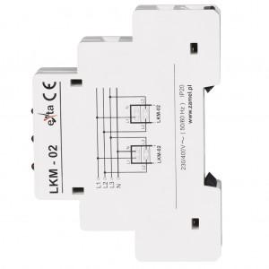 Zamel Exta LKM-02-10 - Wskaźnik zasilania - Kontroli faz typu LED w kolorze czerwonym (3-fazowy: L1, L2, L3) - Podgląd zdjęcia nr 5