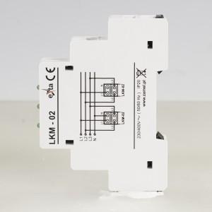 Zamel Exta LKM-02-20 - Wskaźnik zasilania - Kontroli faz typu LED w kolorze zielonym (3-fazowy: L1, L2, L3) - Podgląd zdjęcia nr 5
