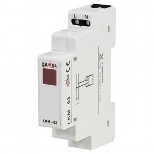 Zamel Exta LKM-03-10 - Wskaźnik zasilania - Kontroli fazy typu LED w kolorze czerwonym (1-fazowy: L1) - Podgląd zdjęcia nr 1