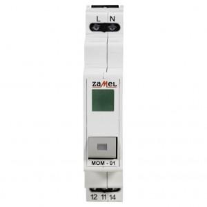 Zamel Exta MOM-01-20 - Przycisk monostabilny ze wskaźnikiem LED w kolorze zielonym - Podgląd zdjęcia nr 2