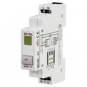 Zamel Exta MOM-01-30 - Przycisk monostabilny ze wskaźnikiem LED w kolorze żółtym - Podgląd zdjęcia nr 1