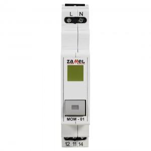 Zamel Exta MOM-01-30 - Przycisk monostabilny ze wskaźnikiem LED w kolorze żółtym - Podgląd zdjęcia nr 2
