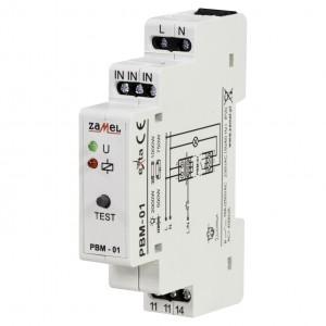 Zamel Exta PBM-01 - Przekaźnik bistabilny 230V AC, Montaż na szynie TH - Podgląd zdjęcia nr 1