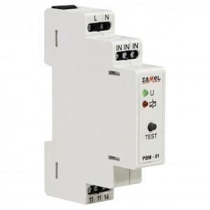 Zamel Exta PBM-01 - Przekaźnik bistabilny 230V AC, Montaż na szynie TH - Podgląd zdjęcia nr 3