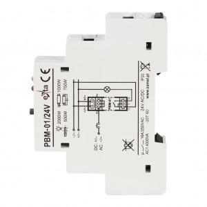 Zamel Exta PBM-01/24V - Przekaźnik bistabilny 24V AC/DC, Montaż na szynie TH - Podgląd zdjęcia nr 5