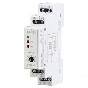 Zamel Exta PBM-06 - Przekaźnik bistabilny sekwencyjny 230V AC, Montaż na szynie TH - Podgląd zdjęcia nr 1