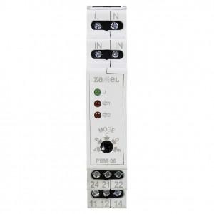 Zamel Exta PBM-06 - Przekaźnik bistabilny sekwencyjny 230V AC, Montaż na szynie TH - Podgląd zdjęcia nr 2