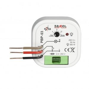 Zamel Exta PBP-03 - Przekaźnik bistabilny z nastawą czasu pracy 230V AC, Montaż w puszcze p/t fi60 (Zakres nastawy czasu pracy 0,1s-10dni) - Podgląd zdjęcia nr 2