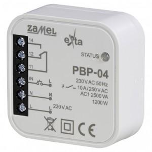 Zamel Exta PBP-04 - Przekaźnik bistabilny uniwersalny 230V AC 10A, Montaż w puszcze p/t fi60 - Podgląd zdjęcia nr 1