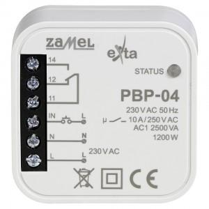 Zamel Exta PBP-04 - Przekaźnik bistabilny uniwersalny 230V AC 10A, Montaż w puszcze p/t fi60 - Podgląd zdjęcia nr 2