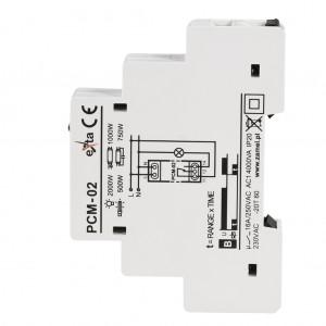 Zamel Exta PCM-02 - Przekaźnik czasowy 230V AC, Montaż na szynie TH (Opóźnione wyłączanie, 0,1s-10dni) - Podgląd zdjęcia nr 5