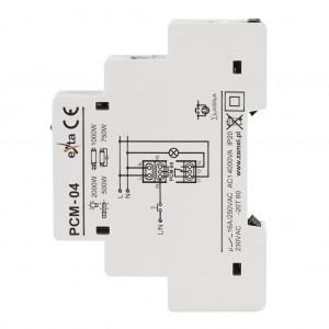Zamel Exta PCM-04 - Przekaźnik czasowy 230V AC, Montaż na szynie TH (Uniwersalny, 10-funkcyjny, 0,1s-10dni) - Podgląd zdjęcia nr 5
