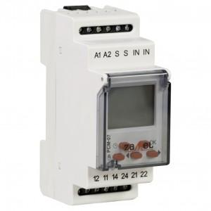 Zamel Exta PCM-07/U - Przekaźnik czasowy 12-230V AC/DC, Montaż na szynie TH (Uniwersalny, 25-funkcyjny, 0,1s-99h59m59s) - Podgląd zdjęcia nr 3
