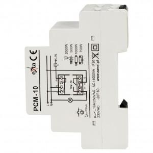 Zamel Exta PCM-10 - Przekaźnik czasowy 230V AC, Montaż na szynie TH (Uniwersalny, 10-funkcyjny, 2-czasowy, 0,1s-10dni + 0,1s-10dni) - Podgląd zdjęcia nr 4