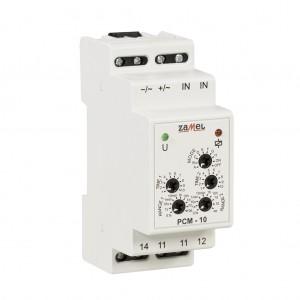 Zamel Exta PCM-10/24V - Przekaźnik czasowy 24V AC/DC, Montaż na szynie TH (Uniwersalny, 10-funkcyjny, 2-czasowy, 0,1s-10dni + 0,1s-10dni) - Podgląd zdjęcia nr 4