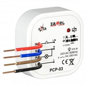 Zamel Exta PCP-03 - Przekaźnik czasowy 230V AC, Montaż w puszcze p/t fi60 (Czas stały: 3min) - Podgląd zdjęcia nr 3