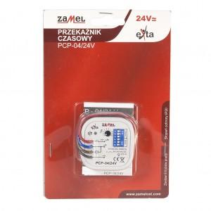 Zamel Exta PCP-04/24V - Przekaźnik czasowy 24V AC/DC, Montaż w puszcze p/t fi60 (Uniwersalny, 8-funkcyjny, 0,1s-10dni) - Podgląd zdjęcia nr 1