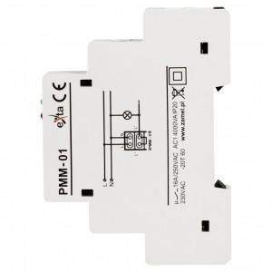 Zamel Exta PMM-01 - Ogranicznik mocy 1-fazowy, Montaż na szynie TH (0,2-2kW) - Podgląd zdjęcia nr 4