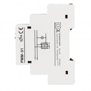 Zamel Exta PMM-01 - Ogranicznik mocy 1-fazowy, Montaż na szynie TH (0,2-2kW) - Podgląd zdjęcia nr 5
