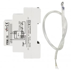 Zamel Exta PRM-10 - Przekaźnik rezystancyjny, Czujnik PTC  komplecie (Temp. +-100*C) - Podgląd zdjęcia nr 4