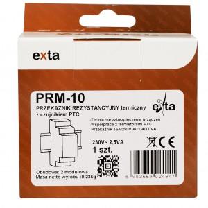 Zamel Exta PRM-10 - Przekaźnik rezystancyjny, Czujnik PTC  komplecie (Temp. +-100*C) - Podgląd zdjęcia nr 6