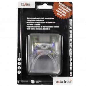 Zamel Exta Free RCL-02 - Bezprzewodowy czujnik temperatury i oświetlenia z wyświetlaczem LCD - Podgląd zdjęcia nr 5