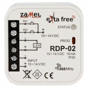 Zamel Exta Free RDP-02 - Bezprzewodowy sterownik LED ze ściemniaczem 10-14V DC (4A, 10-14V DC) - Podgląd zdjęcia nr 2