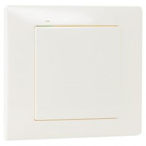 Zamel Exta Free RNK-02 - Bezprzewodowy nadajnik klawiszowy 2-kanałowy, 1-klawiszowy, Natynkowy w kolorze Ecru - Podgląd zdjęcia nr 3