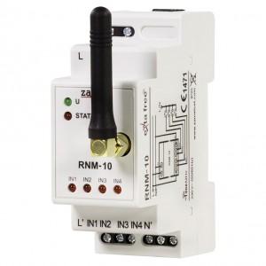 Zamel Exta Free RNM-10 - Bezprzewodowy nadajnik modułowy 4-kanałowy, na szynę TH-35 - Podgląd zdjęcia nr 1