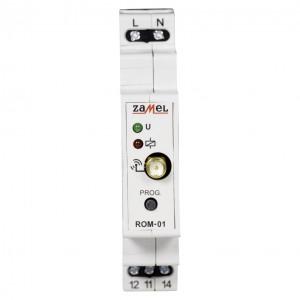 Zamel Exta Free ROM-01 - Bezprzewodowy odbiornik modułowy 1-kanałowy (8A/2000W, 230V AC) - Podgląd zdjęcia nr 3